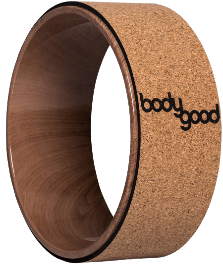 Bodygood Cork Yoga Wheel