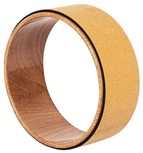 Purity Wave Cork Yoga Wheel- Perfect for Stretching & bending