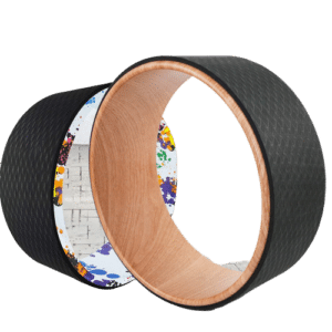 Risefit prop Yoga Wheel for Stretch and Backbends
