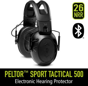 Peltor Sport Tactical 500 Smart Electronic Hearing Protector with Bluetooth Technology