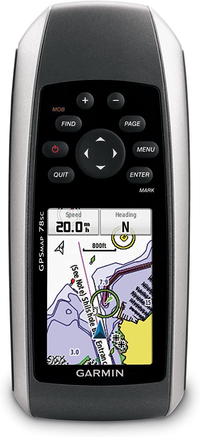 Garmin GPSMAP 78sc Waterproof Marine GPS