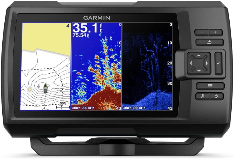 Garmin Striker Plus 7Cv with Cv20-TM transducer