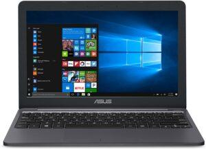 "ASUS L203MA-DS04 VivoBook L203MA Laptop, 11.6"" HD Display, Intel Celeron Dual-Core CPU, 4GB RAM, 64GB Storage, USB-C"