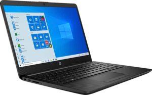 """HP 14 (9XM12UA) Laptop, 14"""" HD Display, AMD Athlon Silver 3050U Upto 3.2GHz, 4GB RAM, 128GB SSD"""