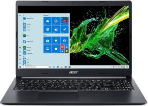 "Acer Aspire 5 A515-55-56VK, 15.6"" Full HD IPS Display, 10th Gen Intel Core i5-1035G1, 8GB DDR4, 256GB NVMe SSD"