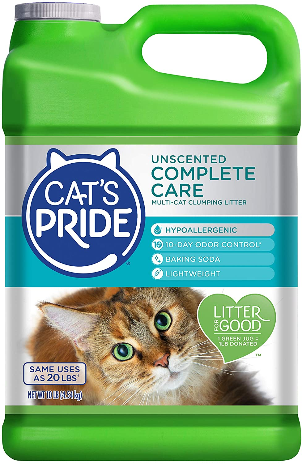 Cat's Pride Unscented Complete care Hypoallergenic Multi-Cat Litter