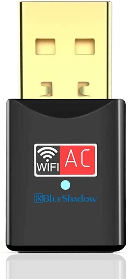 Blueshadow USB Wi-Fi dual-band 2.4G/5G Wireless dongle